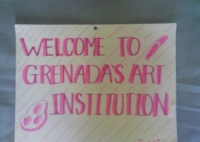 The Struggle of an art Student in Grenada