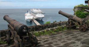 Grenada's unique forts remain a major visitor attraction